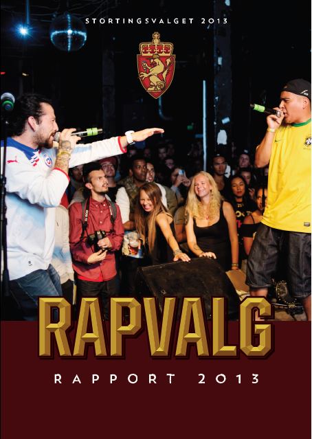 Rapvalg 2013 rapport