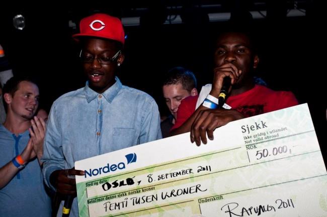 Black King vant 50 000 kroner i Rapvalg 2011. Denne gangen er premien på 100 000 kroner.
